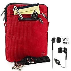 Ebigvalue Hydei Tablet Sleeve Shoulder Bag Case - Red
