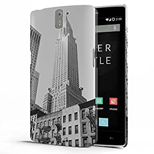 Koveru Designer Protective Back Shell Case Cover for OnePlus One - The Empire State Building New york