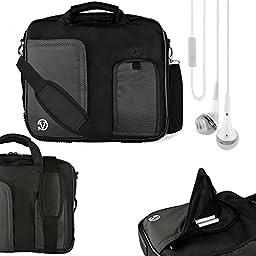 Vangoddy Pindar Shoulder Bag For Black Trim HP Pro Slate 10 EE G1, 10 Plus, Slate 10 HD, ProPad 10.1\