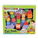 Hamleys Kkids Popbo Blocs Fun Park Starterset, Multi Color