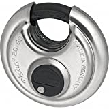 Advanced Abus 80mm 20 Series Diskus Stainless Steel Bodied Padlock Keyed Alike [Pack of 1] w/Extended Warranty
