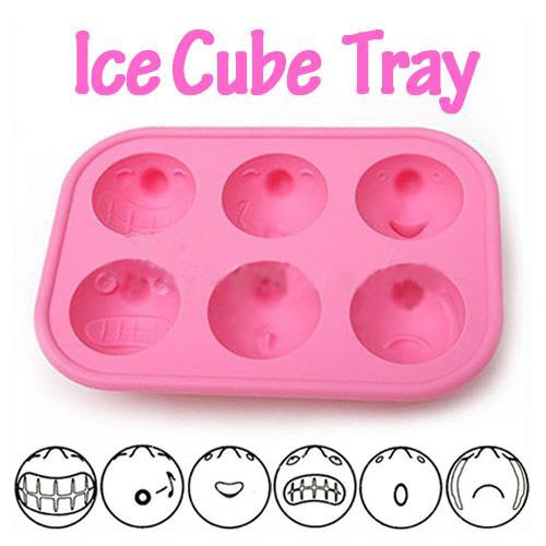 Freeze Bar Party Drink Ice Mould Jelly Chocolate Mold Cube Cup Cake Maker Tray 1pcs (color random)