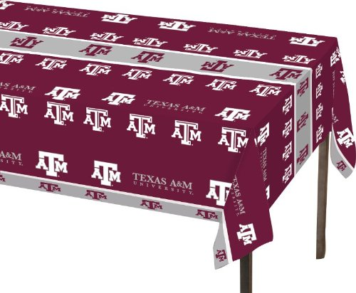 Creative Converting Texas A and M Aggies Plastic Banquet Table Cover