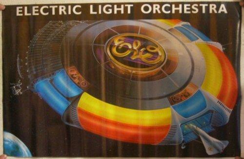Electric Light Orchestra Poster The Elo E.L.O.