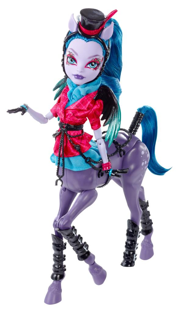 Amazon.com: Monster High Freaky Fusion Avea Trotter Doll: Toys & Games