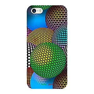 HomeSoGood Colorful Glowing Spheres Multicolor Case For iPhone 5 / 5S (Back Cover)