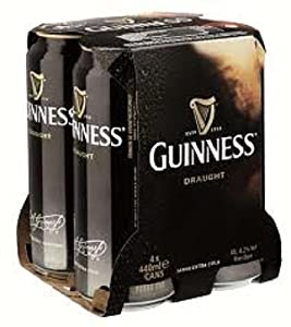 guinness in dosen 4 x 440ml inkl pfand lebensmittel getr nke. Black Bedroom Furniture Sets. Home Design Ideas