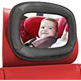 LARGE Baby Car Mirror by Baby Everest - Best Rear-Facing Back Seat Mirror - Adjustable, Shatterproof and Crash Tested - Rear View Mirror - For Back Seat Plus Free Gift Box - *Satisfaction Guaranteed*