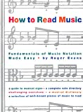 How to Read Music: Fundamentals of Music Notation Made Easy (0517884380) by Roger Evans