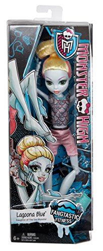 Monster High Fangtastic Fitness Lagoona Blue Doll JungleDealsBlog.com