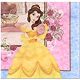 Disney Beauty and the Beast Princess Two Packs of Large Napkins Birthday 32 count