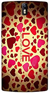 Timpax protective Armor Hard Bumper Back Case Cover. Multicolor printed on 3 Dimensional case with latest & finest graphic design art. Compatible with One Plus One ( 1+1 ) Design No : TDZ-28670