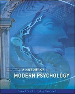 psy 310 a history of modern psychology