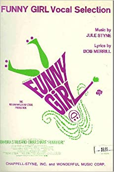 Vocal Selection [Sheet Music Book] Music for Funny Girl, Sadie, Sadie