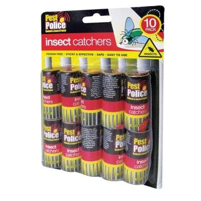 10-sticky-paper-fly-catchers-no-fumes-no-mess-sticky-tape-for-catching-them-unwanted-insectsfree-shi