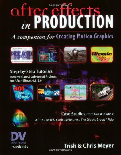 After Effects in Production with CDROM