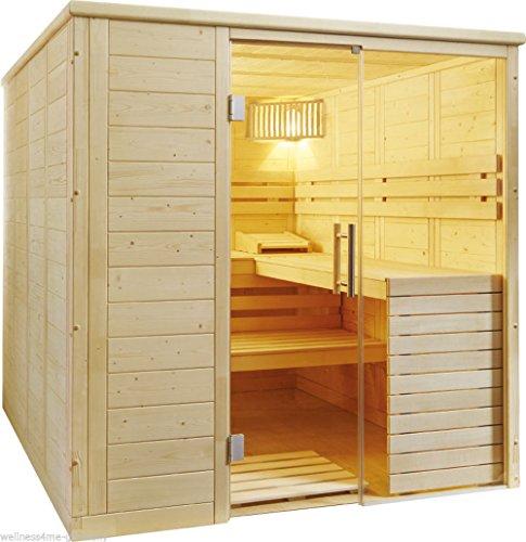 Massivholz-Sauna-Aura-inkl-EOS-Ofen-und-Steuerung