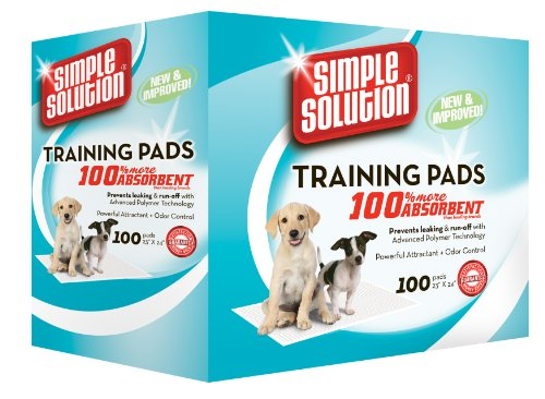 picture Simple Solution Puppy Training Pads, 100 Count