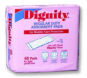 Dignity Regular Duty Pads Case of 384