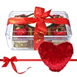 Toothsome Chocolate Collection With Heart Pillow - Chocholik Luxury Chocolates