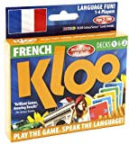 KLOO's Learn to Speak French Language Card Games Pack 1 (Decks 1 & 2)