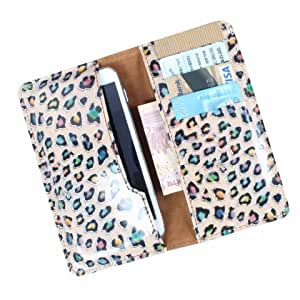 DooDa PU Leather Case Cover For Micromax Canvas 6