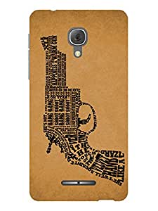 TREECASE Designer Printed Soft Silicone Back Case Cover For TCL 560