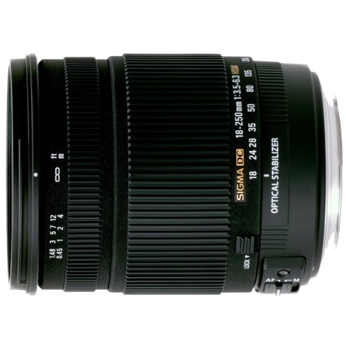 Sigma 18-250mm F3.5-6.3 DC HSM Optical Stabilised Lens for Nikon Digital SLR Cameras
