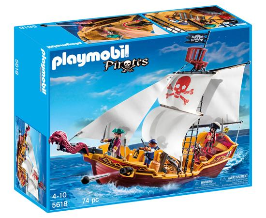 playmobil red serpent pirate ship toys games. Black Bedroom Furniture Sets. Home Design Ideas