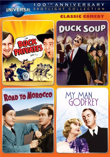 Classic Comedy Spotlight Collection (Buck Privates / Duck Soup / Road to Morocco / My Man Godfrey) (Duck Soup Marx Brothers compare prices)