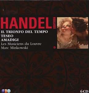 Handel Edition (Il Trionfo del Tempo e del Disinganno / Teseo / Amadigi di Gaula)