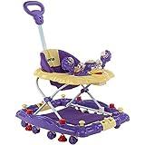 Luvlap Comfy Baby Walker With Rocker (Purple)
