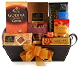 Wine.com Connoisseur Gift Basket Containing Godiva Chocolate