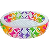 "Intex Swim Center Pinwheel Inflatable Pool, 90"" x 22"", for Ages 6+"