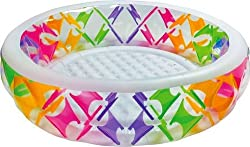 Intex Swim Center Pinwheel Pool, Multi Color
