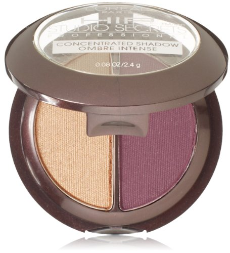 L'Oreal Paris Hip High Intensity Pigments Concentrated Eye Shadow Duos, Wicked, 0.08 Ounces