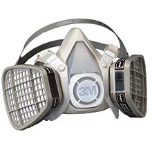 3M Half Facepiece Disposable Respirators, Organic Vapor Protection