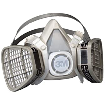 3M Half Facepiece Disposable Respirators, Organic Vapor Protection