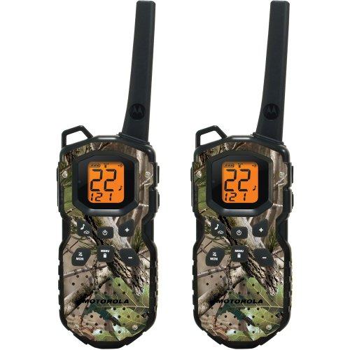 Motorola Ms355R Frs Waterproof Two-Way - 35 Mile Radio Pack - Camo
