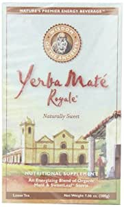 Wisdom of the Ancients Yerba Mate Royale, Loose Tea, 7.06-Ounce Boxes (Pack of 3)