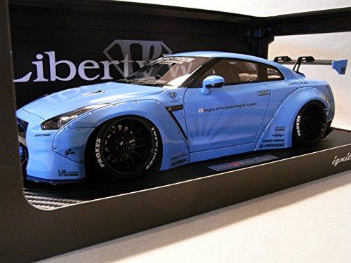 ignition model 1/18 LB WORKS GT-R (R35) Blue