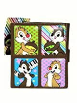 Chip and Dale wallet - chip and dale bill fold and organizer (2color)