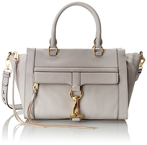 Rebecca Minkoff Bowery Satchel Handbag, Putty, One Size
