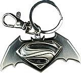 Dc Comics Batman Vs Superman Movie Replica Logo Keychain w/Gift Box