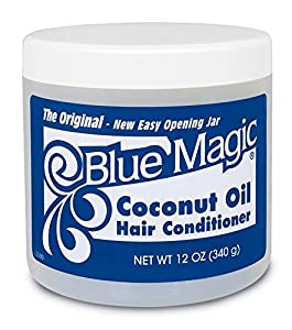 Blue Magic Coconut Oil Hair Conditioner, 12-Ounce Jars