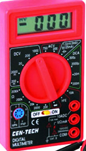 Digital Amp Ohm Volt Meter Ac Dc Voltmeter Multimeter (Cen Tech Digital Multimeter compare prices)