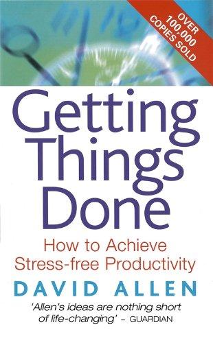 Buchseite und Rezensionen zu 'Getting Things Done: The Art of Stress-free Productivity' von David Allen