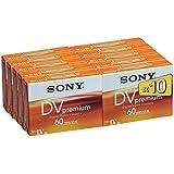 Sony confezione da 10 DVM premium (60 min)