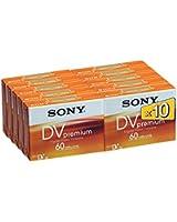 Sony DVM-60PR 10 Mini-Cassette vidéo Premium 60 mins 10DVM60PR