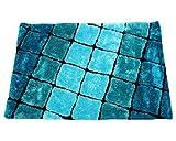 Living Essence Shaggy Carpet (DSN-03) (Multi-Coloured)